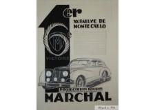 Marchal - XXe Rallye de Monte-Carlo