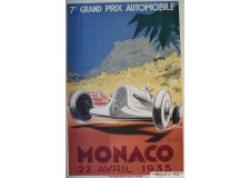 GRAND PRIX DE MONACO 1935