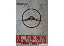 2 ème Rally Del Sud a Taormina