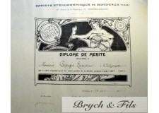 Diplome illustré 1904