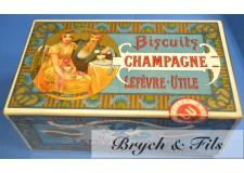 """Lefevre Utile boîte """"Biscuits champagne"""""""