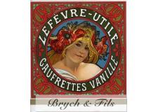Lefevre Utile gaufrettes vanille