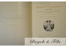 Léon Maillard : Les menus et programmes illustrés