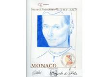 Epreuve d'artiste Projet Nicollo Machiavelli