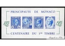 1985 Bloc Non Dentelé N°33a