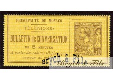 Timbre Téléphone 1886