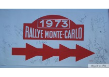 Rallye de Monaco 1973 avec autographes