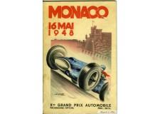 Programme Grand Prix Monaco 1948