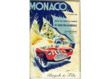 Programme Grand Prix de Monaco 1952