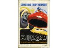 Programme Grand Prix de Monaco 1955