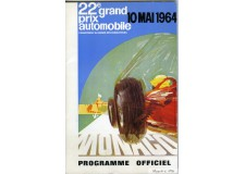Programme Grand Prix de Monaco 1964