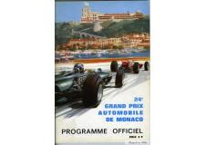 Programme Grand Prix Monaco 1966