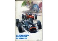 Programme Grand Prix Monaco 1967