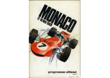 Programme Grand Prix Monaco 1969