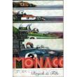 Programme Grand Prix Monaco 1973 with autographs