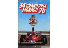 Programme Grand Prix Monaco 1976
