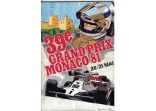 Programme Grand Prix Monaco 1981