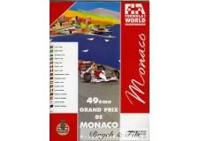 Programme Grand Prix Monaco1991