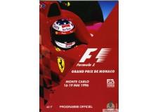 Programme Grand Prix Monaco 1996 avec Pass
