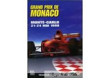 Programme Grand Prix Monaco 1998
