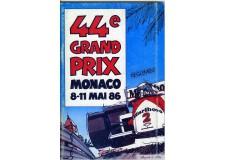 Règlement Grand Prix Monaco 1986