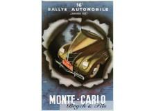 Programme Rallye Monaco 1937