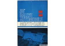 Programme Rallye Monaco 1969