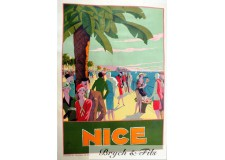 "Affiche originale ""Nice"""
