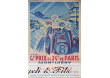 GRAND PRIX 24H DE PARIS 1955