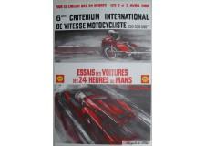 Essais des voitures des 24 H du Mans 1966