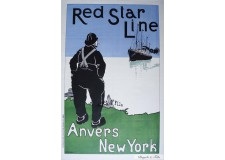 "Red Star Line  ""Anvers- New York"""