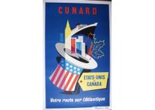 "Cunard  ""Etats Unis-Canada"""