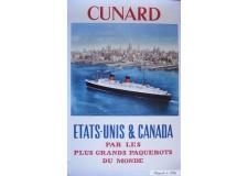 Cunard Etats-Unis Canada