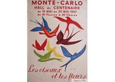 Monte carlo Les Oiseaux et Les Fleurs