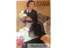 """Affiche originale """"Bière Urania Zurich """""""