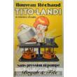 Réchaud Tito Landi