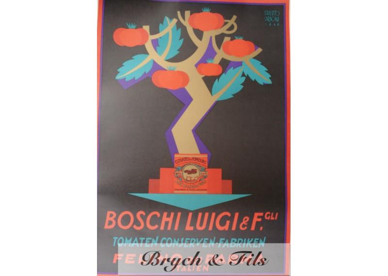 Tomaten conserven fabriken Boschi Luigi 1926