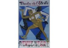 La revue nègre Théatre de l'étoile Champs Elysés