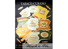 Tabaco Cubano (affiche noire)