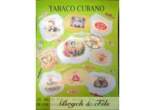 Tabaco Cubano (affiche verte)