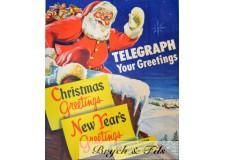 "Western Union ""Merry Chrismas"