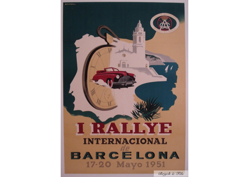 1er Rallye International de Barcelona