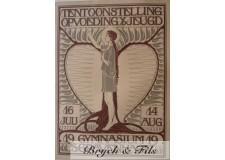 """Affiche originale """"19's Gymnasium Gravenhage"""""""