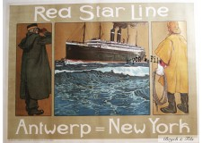 Red Star Line Antwerp New York