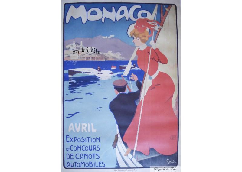 Exposition et Concours de Canots Automobiles (Rouge - Red)