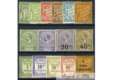Taxe 1905/1925 (Sauf N°4 et 10) x