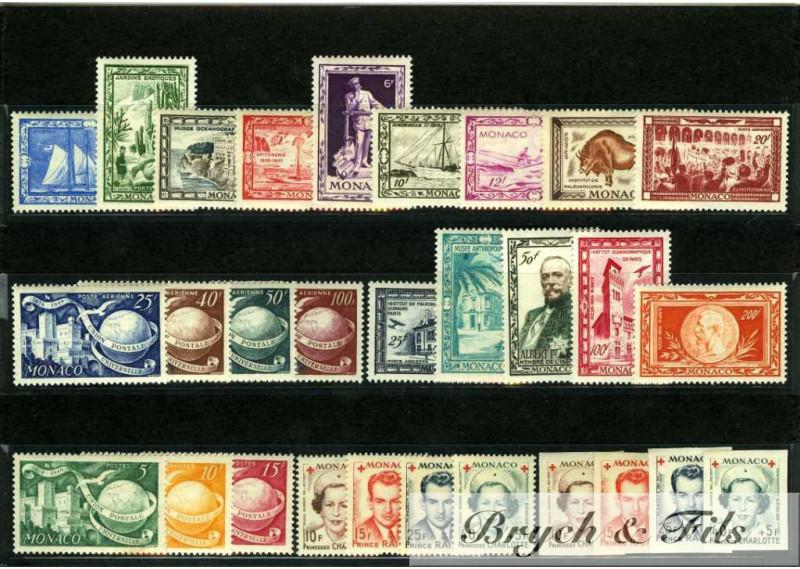 Année 1949 + P.A. N°36/41 et 45/48