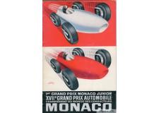 Programme Grand Prix de Monaco 1959