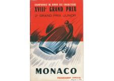 Programme Grand Prix de Monaco 1960