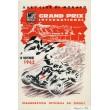 Programme Grand Prix Kart Monaco 1962